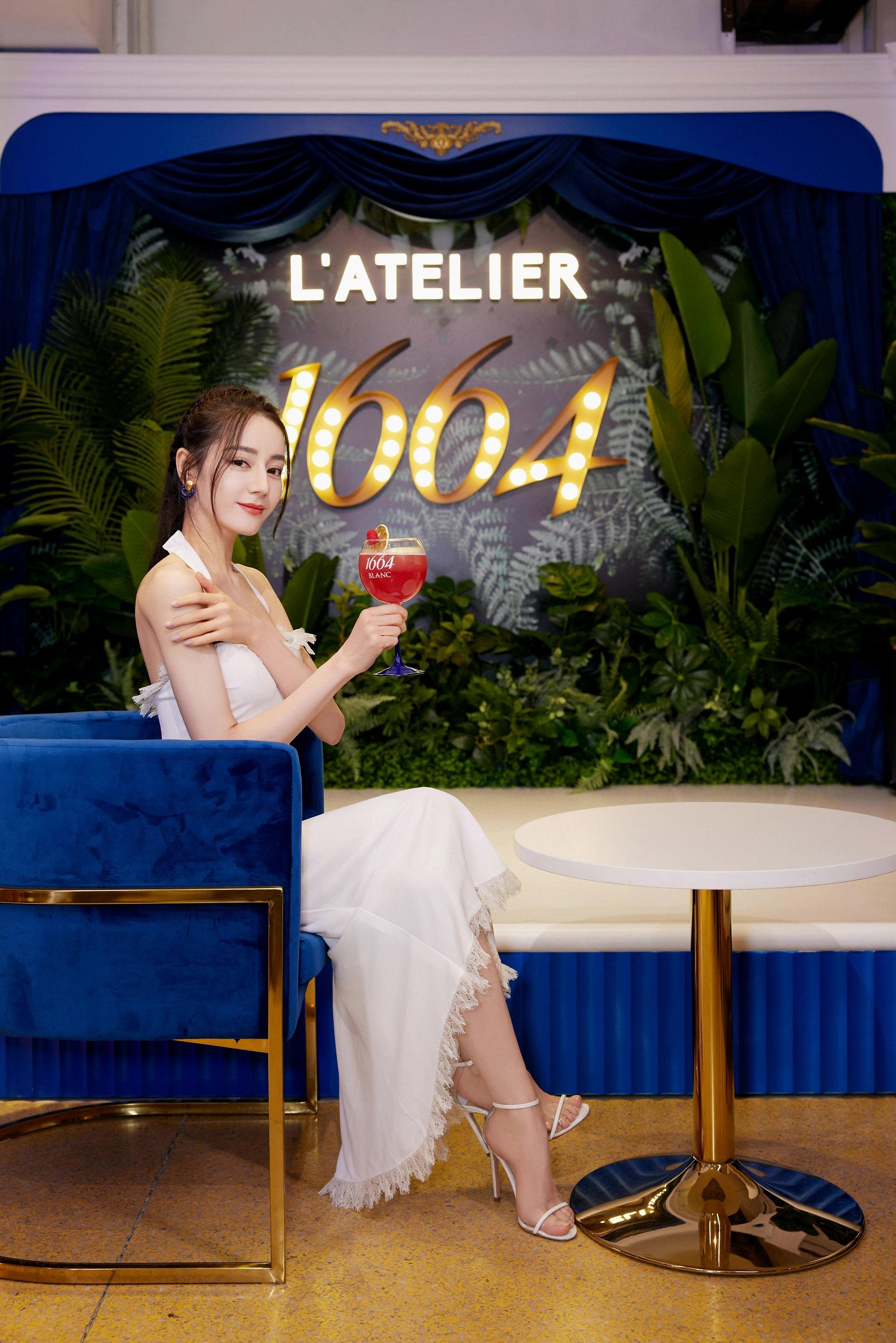 """""""1664 L'ATELIER巴黎艺墅""""抵临上海  1664品牌代言人迪丽热巴探索法式生活插图(7)"""