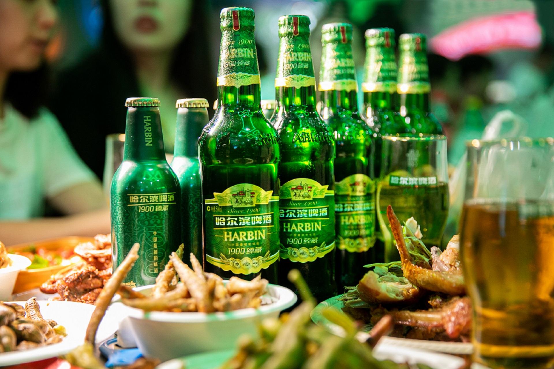 """1900臻藏焕新""""冰城夏都""""城市名片,""""来哈尔滨,喝哈尔滨啤酒""""插图(3)"""