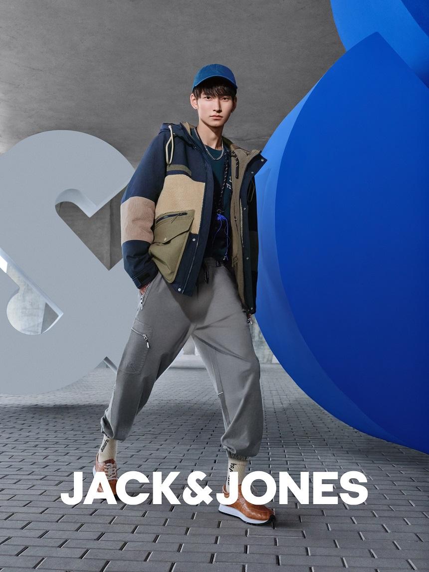 "JACK & JONES杰克琼斯发布 2021冬季""Urban Waves城市浪潮""时尚大片插图(3)"