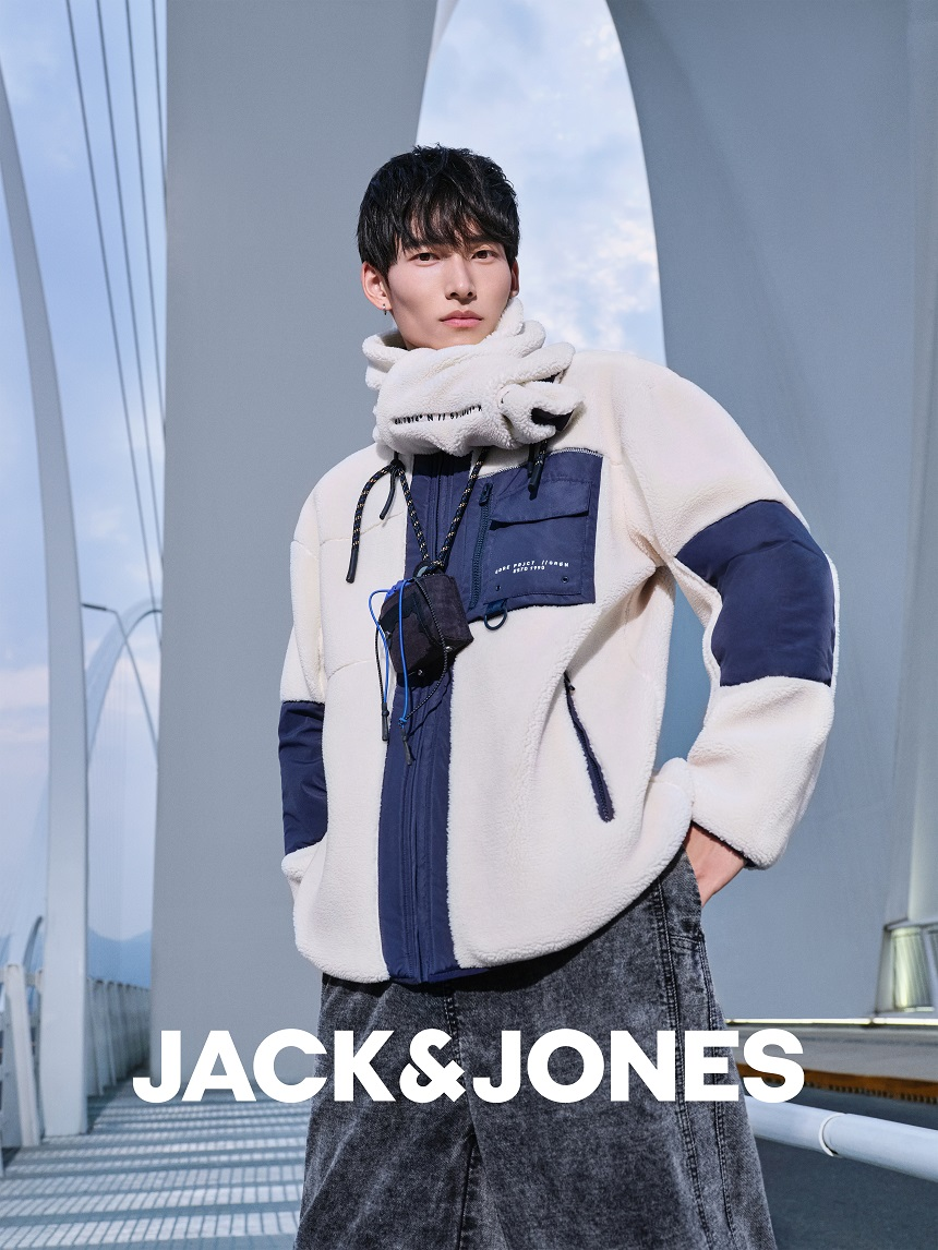 "JACK & JONES杰克琼斯发布 2021冬季""Urban Waves城市浪潮""时尚大片插图(5)"